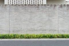 Fondo della parete della via, fondo industriale immagine stock libera da diritti