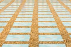 Fondo della pavimentazione in piastrelle Fotografia Stock