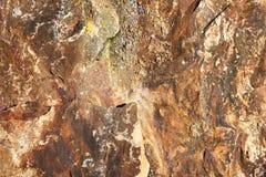 Fondo della pietra diritta stagionata di età del bronzo Immagini Stock Libere da Diritti