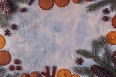 Fondo della pietra della luce di Natale Fotografie Stock