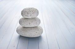 Fondo della pila delle pietre della roccia Immagini Stock