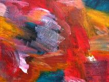 Fondo della pittura di colore Fotografia Stock Libera da Diritti