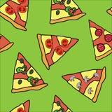 Fondo della pizza Fotografia Stock Libera da Diritti