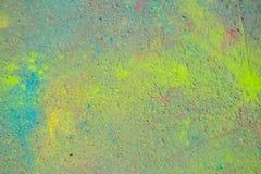 Fondo della polvere variopinta di Holi Fotografie Stock Libere da Diritti