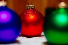 Fondo della raccolta delle palle del nuovo anno Immagini Stock Libere da Diritti