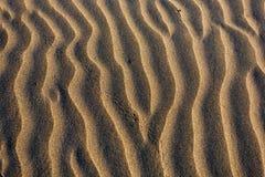 Fondo della sabbia. Fotografia Stock