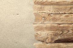 Fondo della sabbia Fotografie Stock