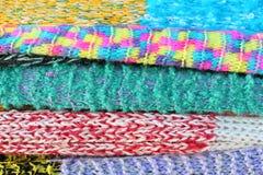Fondo della sciarpa Immagine Stock