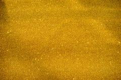 Fondo della scintilla di scintillio dell'oro Fotografia Stock