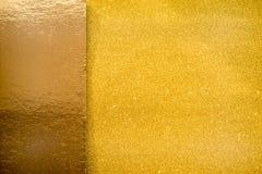 Fondo della scintilla di scintillio dell'oro Fotografie Stock