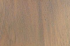 Fondo della spiaggia sabbiosa, struttura dettagliata della sabbia, vista superiore Fotografie Stock Libere da Diritti