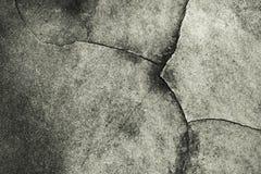 Fondo della strada del cemento della crepa Fotografia Stock