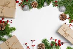 Fondo della struttura di Natale fotografie stock libere da diritti