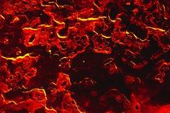 Fondo della superficie di messa a terra della lava Fotografia Stock