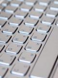Fondo della tastiera del computer portatile Fotografia Stock