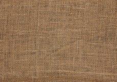 Fondo della tela di sacco della tela della tela da imballaggio fotografia stock