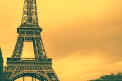 Fondo della torre Eiffel della Francia immagini stock libere da diritti
