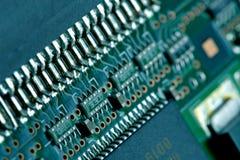 Fondo del piatto del computer Immagine Stock