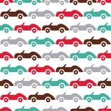 Fondo delle automobili di scarabocchio Immagini Stock Libere da Diritti