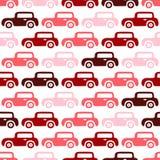 Fondo delle automobili di scarabocchio Immagine Stock