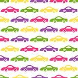 Fondo delle automobili di scarabocchio Fotografie Stock Libere da Diritti
