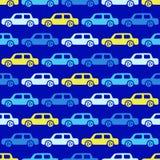 Fondo delle automobili di scarabocchio Fotografia Stock Libera da Diritti