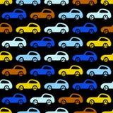 Fondo delle automobili di scarabocchio Immagine Stock Libera da Diritti