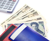 Yen giapponesi Fotografia Stock Libera da Diritti