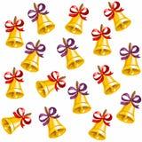 6 - fondo delle campane Presto alla scuola I bambini vanno al banco Fondo per la cartolina della scuola VENDITA di autunno squill illustrazione di stock