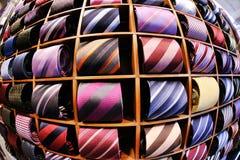 Fondo delle cravatte dell'uomo di affari Fotografia Stock Libera da Diritti