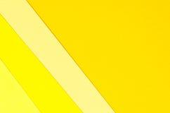 Fondo delle forme geometriche della carta colorata Fotografie Stock Libere da Diritti