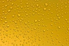 Fondo delle gocce di acqua su superficie fotografie stock
