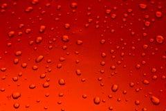 Fondo delle gocce di acqua su superficie fotografia stock