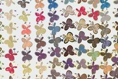 Fondo delle illustrazioni della farfalla, buoni disegnati a mano per progettazione grafica, le carte da parati o i libretti Selva illustrazione vettoriale