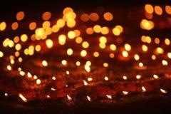 Fondo delle lampade di Diwali fotografia stock libera da diritti