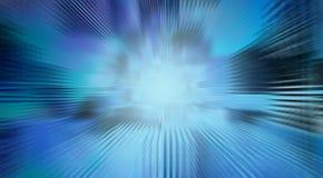 Fondo delle linee blu per il concetto di tecnologia, backgroun astratto illustrazione vettoriale