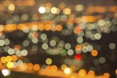 Fondo delle luci di colori Immagini Stock Libere da Diritti
