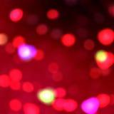 Fondo delle luci rosse Fotografia Stock