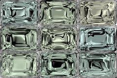 Fondo delle mattonelle del cristallo o del ghiaccio o di vetro illustrazione vettoriale