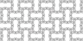 Fondo delle mattonelle di ripetizione della carta da parati isolato sciarpa senza cuciture del bulldog francese di Halloween di v royalty illustrazione gratis
