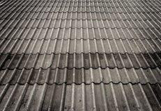 Fondo delle mattonelle di tetto Fotografie Stock Libere da Diritti