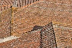 Fondo delle mattonelle di tetto di Lucca Fotografia Stock Libera da Diritti