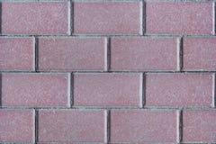 Fondo delle mattonelle rosa Immagine Stock