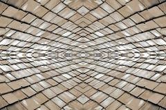 Fondo delle mattonelle sul tetto Fotografia Stock Libera da Diritti
