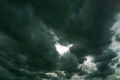 Fondo delle nuvole di tempesta fotografia stock libera da diritti