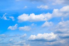 Fondo 171015 0060 delle nuvole e del cielo blu fotografie stock libere da diritti