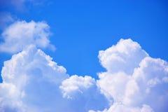 Fondo 171018 0158 delle nuvole e del cielo blu Fotografie Stock Libere da Diritti