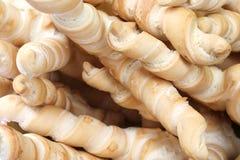 Fondo delle pagnotte a forma di miele del pane Fotografia Stock
