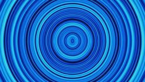 Fondo delle particelle circolari, nei toni gialli caldi Bande e linee multi d'ardore animate astratte dei cerchi di colore illustrazione di stock