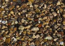 Fondo delle pietre del mare fotografia stock libera da diritti